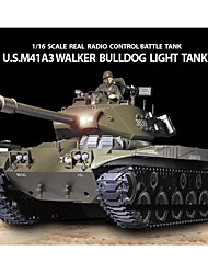 Heng Long 1/16 Escala EE.UU. M41A3 Walker Bulldog RC tanque de batalla