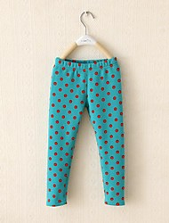 Girl's Pants,Cotton Blend Winter / Spring / Fall Blue / Red
