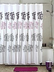 Modelo del árbol de ducha de poliéster cortina