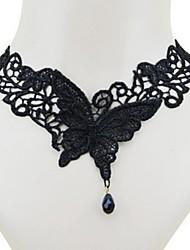 moda sexy tentação de borboleta colar de mulheres
