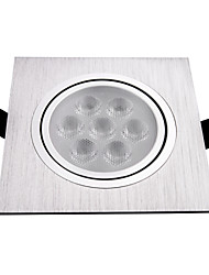 7W 560lm Plata Luz LED Spot HSD317 AC85-265V
