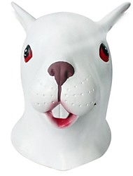 kommen neue ® Latex Kaninchen Kopf zu bedecken Halloween-Party prop