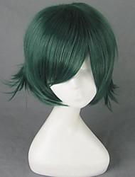 Togainu no Chi Akira Green Short Cosplay Wig