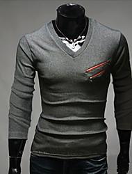 air manteau moulante zippée col v de style coréen