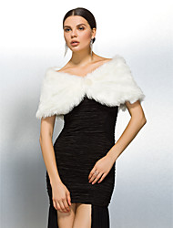 Wedding / Party/Evening Faux Fur Coats/Jackets Fur Wraps