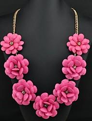 Women's Luxury Flower Pattern Necklace
