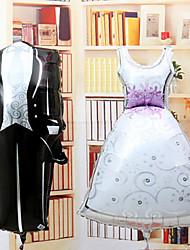 alluminio sposa sposi insieme membrana matrimonio palloncino