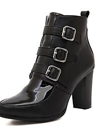 meilisha extremo afilado de la moda europea boots_34