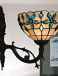 8 Inch Stained Glass Tiffany Wall Lamp
