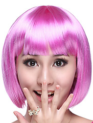 Cosplay Wigs Cosplay Festival/Holiday Halloween Costumes Purple Solid Wig Halloween / Carnival Female