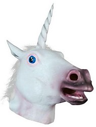 Unicorn Animal  Latex Halloween Mask Halloween Props Cosplay Accessories