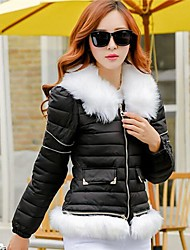Women's Can Remove The Heavy Collar Short Cotton-paddedcoat