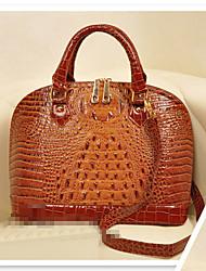bolikalu женщин все соответствует старинных изящный крокодиловый чемодан