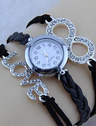 diamante braccialetto dell'involucro amore-8 watch (1pc)