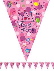 multicolor felice fumetto bandiera compleanno accessorio bandiera del partito