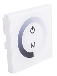 Glas 8a 1-Kanal-Touch-Panel-Controller-Dimmer für einfarbige LED (DC12-24V)