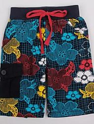 kinderen bloemen zomer broek strand badmode casual mode jongens broek willekeurige afdruk