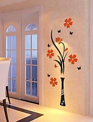 3d stickers muraux stickers muraux, des fleurs en cristal acrylique murales bricolage autocollants