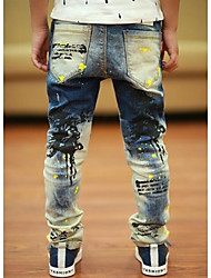 Boy's Skinny Long Pants