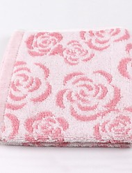 Thouse®Rose Jacquard Hand Towel  100% Cottonl   34cm*34cm