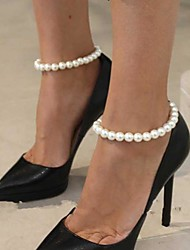 Women's All Handmade Pearl Anklet