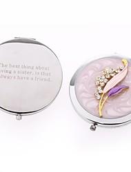 cadeaux de jour amis des cadeaux de modèle personnalisé cosmétique valentine miroir