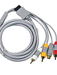 RCA Audio AV Video S-Video Cord Cable for Nintendo Wii