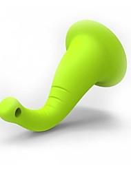 lomui небольшой хобот слона кронштейн творческий номер держатели наушников намотки подходящий для яблоко / Andriod телефонов
