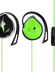 IP50 3,5 millimetri stereo hi-fi curvetta auricolari sportivi con microfono e auricolare-fili per pc portatile per iPhone6 / iPhone6 più