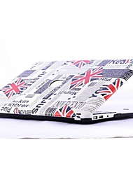 Hot Selling Union Jack Pattern Foldable PC Body Protact Case for 13.3 Macbook Pro
