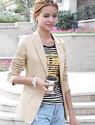 europeu elegante paletó casaco outerwear das mulheres