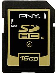 PNY 16GB Class4 SDHC Memory Card (Random Color)
