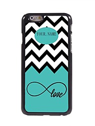 "Personalized Gift Sea Wave and Love Design Metal Case for iPhone 6 (4.7"")"