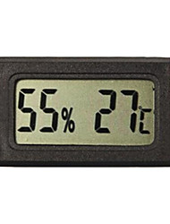 LCD Indoor Outdoor termometro digitale del tester del calibro di temperatura nero