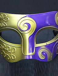 голо Хэллоуин танец королева Вечерние наряды маска (случайный цвет)