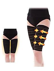 shapewear coxas taping shaper espiral moldar curva perfeita do corpo shaper pernas