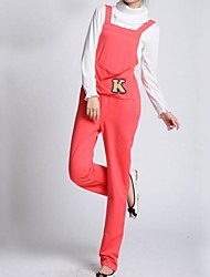 lazer moda de maternidade a letra k projeto canguru kockets jumpsuits