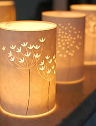lámpara de pie 1 luz estilo simple pantalla 220V Modelo del árbol de pergamino