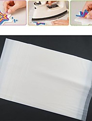 10PCS White Ironing Paper for Fuse Beads Hama Beads DIY Jigsaw Safty for Kids Craft(23x19x0.1cm)