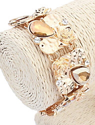Dames Europese en Amerikaanse mode prachtige Bloemen Kralen Chain Link Armbanden (meer kleuren) (1 st)