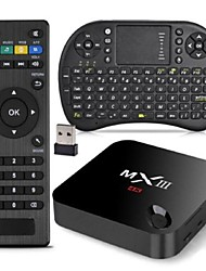 MXIII Amlogic S802 XBMC Fully Loaded TV Box 2G RAM 8G ROM RII i8 Airmouse QWERTY Keyboard Bundle Kit 2.4G 5G Dual Wifi