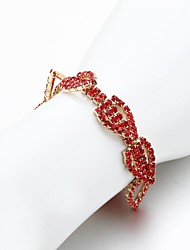 Women's Tennis Bracelet Cubic Zirconia/Alloy Rhinestone