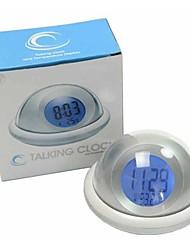 4 portas usb com indicação de temperatura para o despertador levou