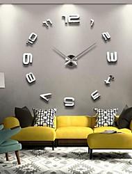 Акриловые, клеившихся настенные часы