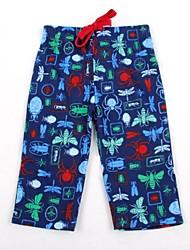 infantil calças de verão praia swimwear animais global impresso calças moda casual impressão aleatória