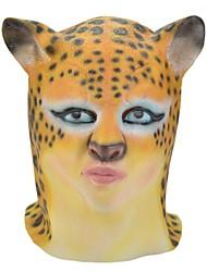 SYVIO de alta calidad de látex hermosa Nidalee / la pista de la mujer del leopardo de Halloween máscara del slip-on