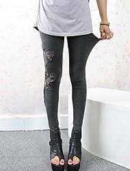 Women's Fashion Modal  Lace Stitching Leggings