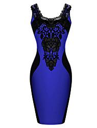 vicone Frauen sleeveless reizvolles BodyCon schlanke Kleider