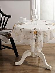 Tischdecken klassische Stickerei Tischdecke 85 * 85cm