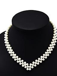 shixin® collar v forma de la perla tres cadenas clásico (1 unidad)